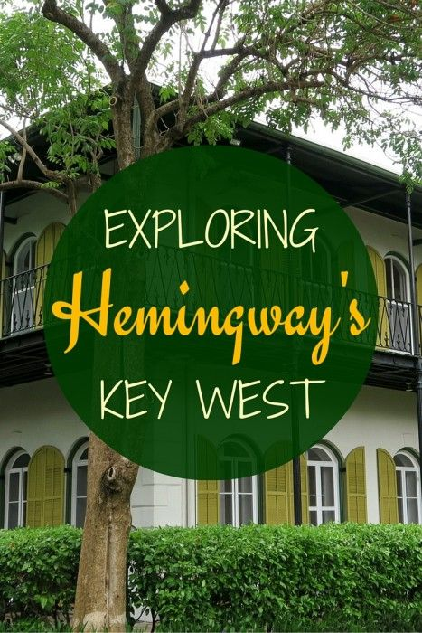 Touring Ernest Hemingway's Key West with visits to Blue Heaven, Hemingway House, Key West Lighthouse, Sloppy Joe's Bar, and Casa Antigua. The Florida Keys, Florida
