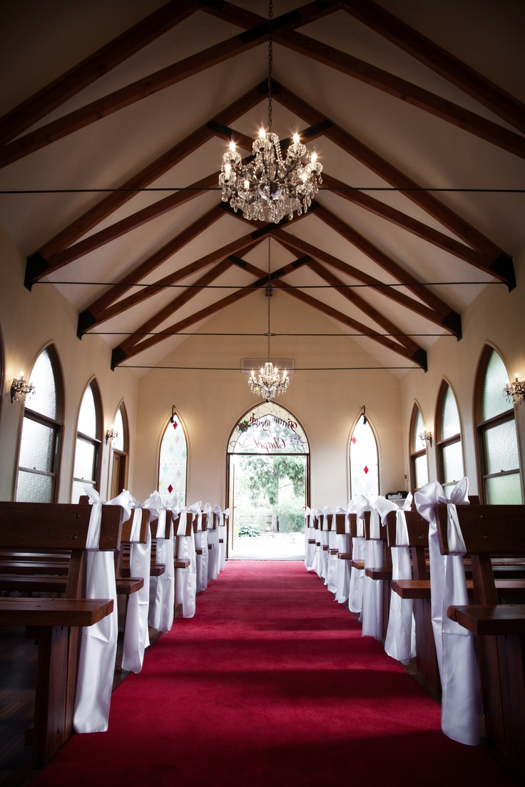 beautiful interior of the chapel