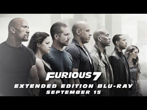 Furious 7 Extended Edition - On Blu-ray September 15, 2015 - YouTube
