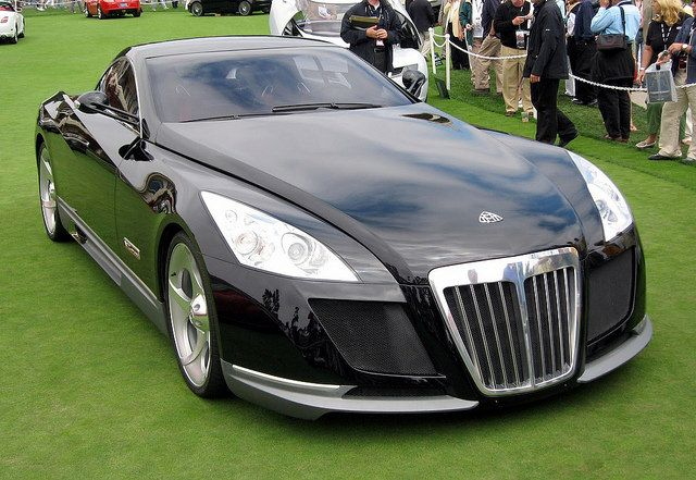 Magnificent 2005 Maybach Exelero Coupe.