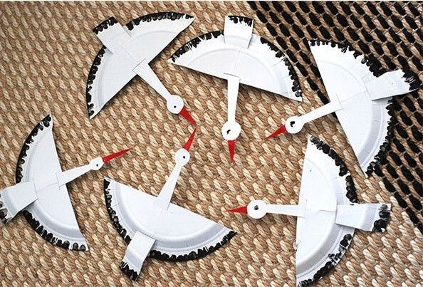 Kağıt Tabaktan Leylek Yapımı | Okul Öncesi Kolik
