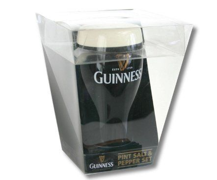 Guinness Pint Glass Salt and Pepper Shakers by Guinness ... - photo#32