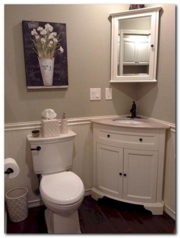 Photographic Gallery The best Half bathroom decor ideas on Pinterest Half bath decor Half bath remodel and Diy bathroom decor