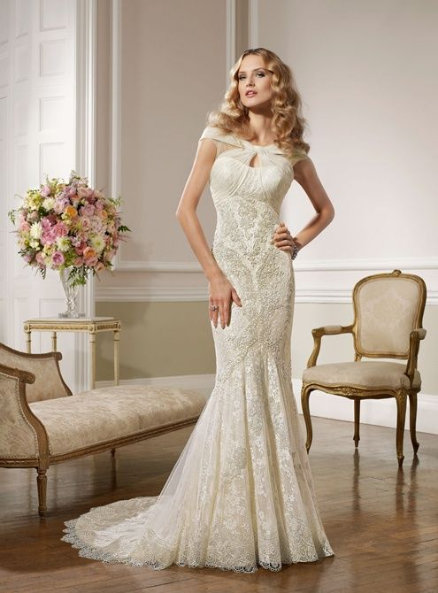 Bella 67017A Tulle/lace