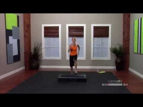 Step aerobics workout routine with Jenni - 30 Minutes - YouTube