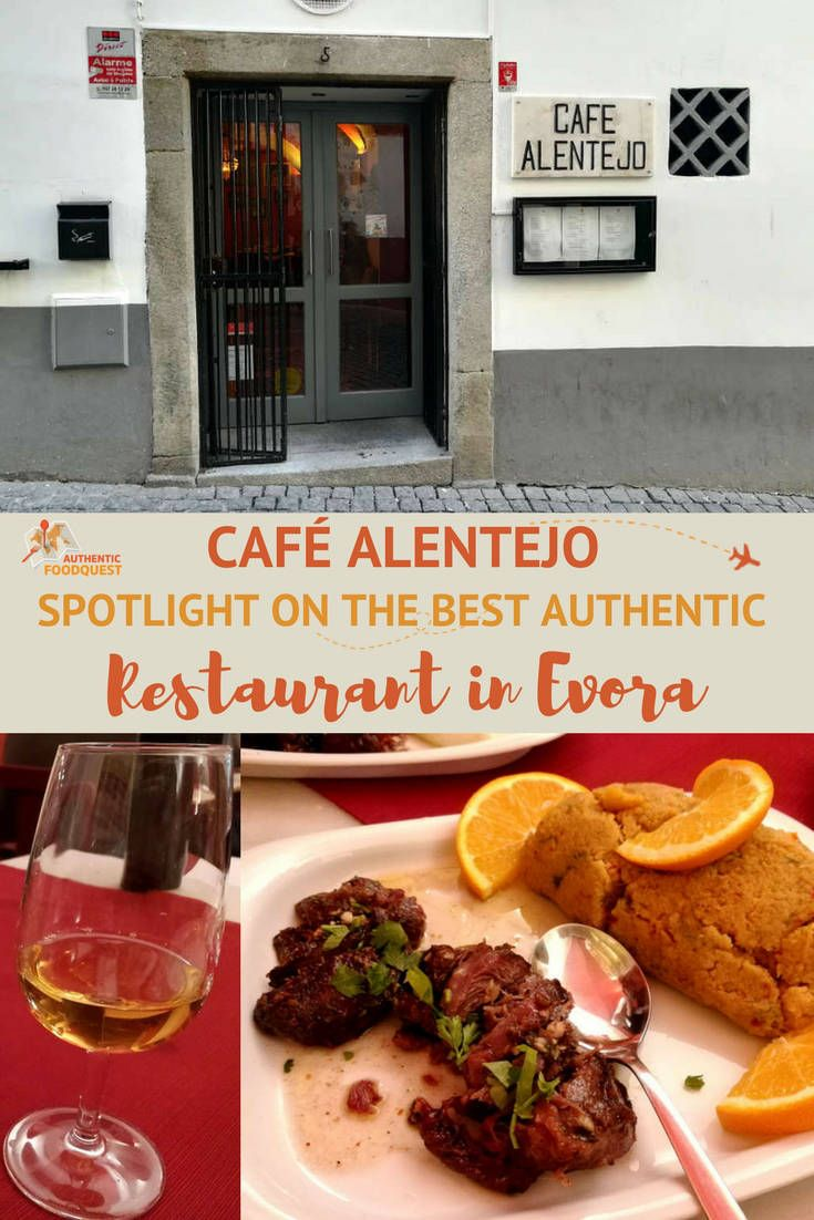 Évora, the capital, is the gastronomic heartland of the Alentejo region. To taste the authentic flavors of the Alentejo, don't look further than Café Alentejo, one of the best restaurant in Évora.