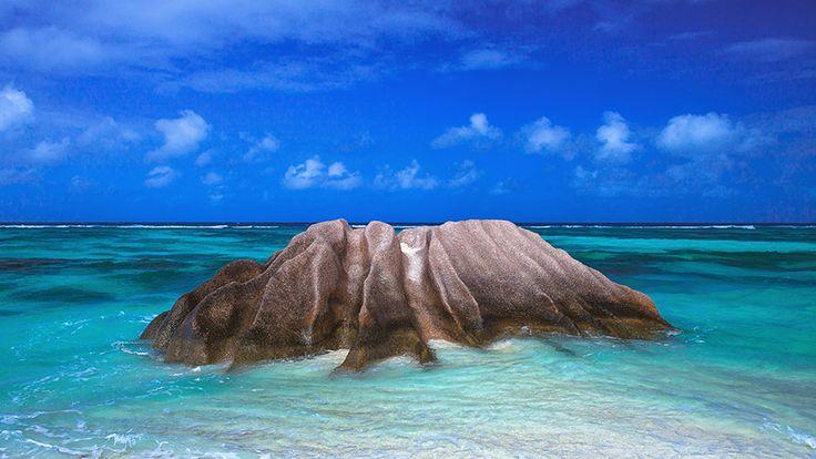 Seychelles, quaint granite. by Dmitry Laudin