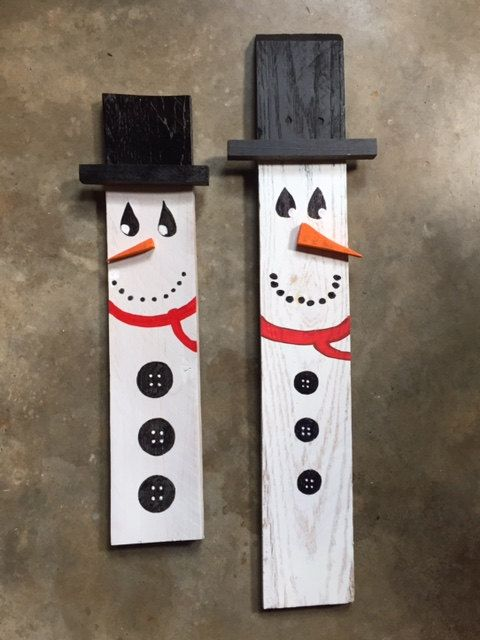 1000 ideas about wooden snowmen on pinterest snowman for Crafts made out of pallets