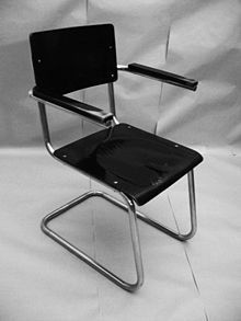 Mauser Modell RB 4, 1939 cantilever chair