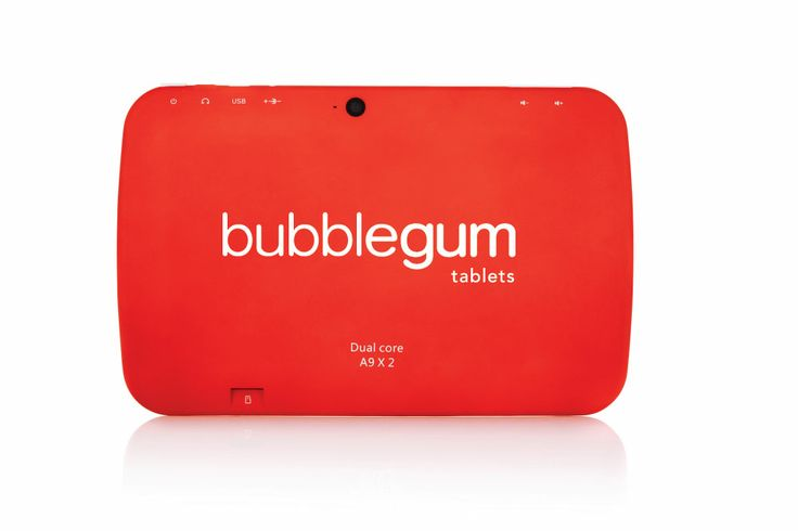 Orange Bubblegum Kids Tablet www.intellibox.co.za