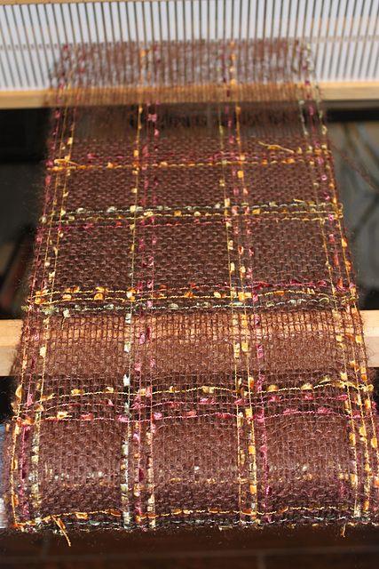 Ravelry: BluebonnetGal's Mohair & Ribbon Scarf