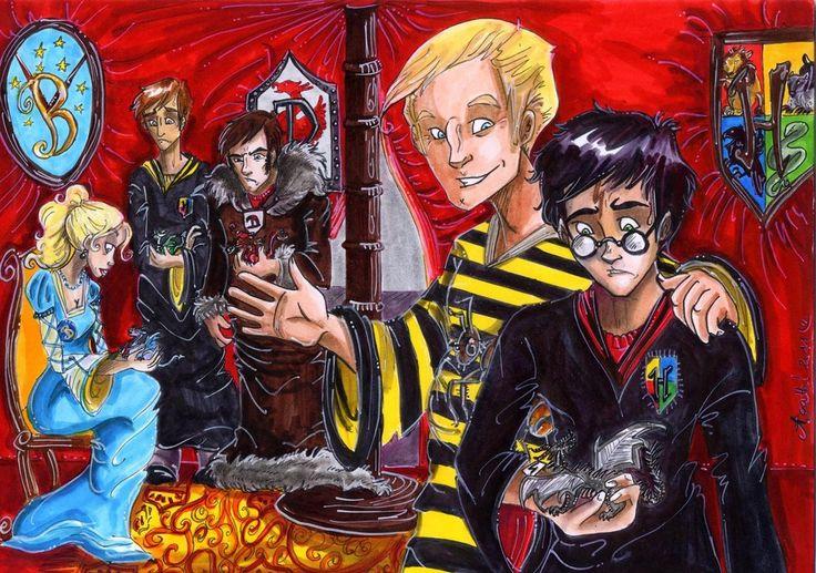 Hungarian Horntail By Agatha Macpie On Deviantart Harry Potter Fan Art Rowling Harry Potter Harry Potter Art