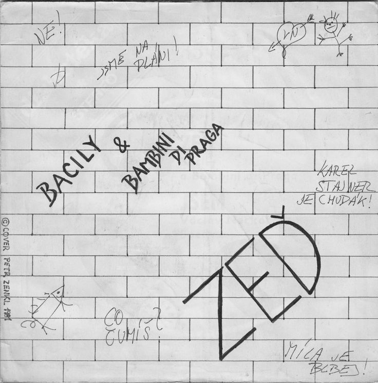 "Václav Neckář & Bambini di Praga ""Zeď"" (Another Brick in the Wall, Part II)"