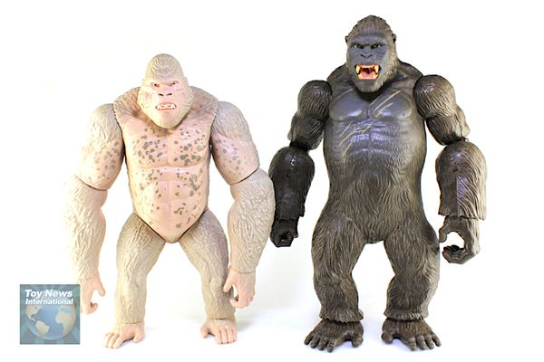 Rampage Movie Walmart Exclusive Mega George Giant Figure Video Review Image Gallery Godzilla Toys King Kong Rampage Movie