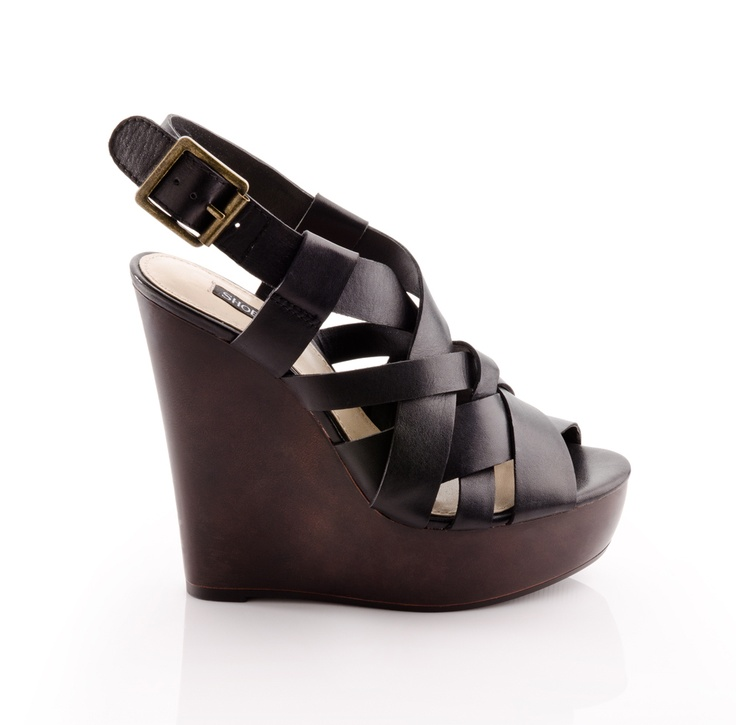 Lambert Platform: Leather Wedges, Leather Wedge Love, Fashion, Black Leather, Shoes Neutral, Cute Wedges, Platform Wedge, Clothes Shoes Jewelry Handbags, Clothes Clothes Shoes