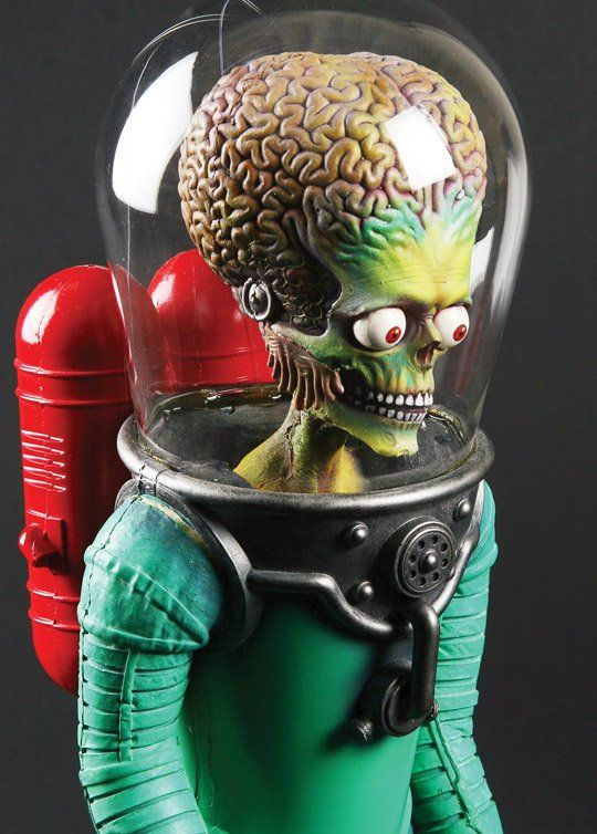 """Stop-motion puppet from """"Mars Attacks."""""""