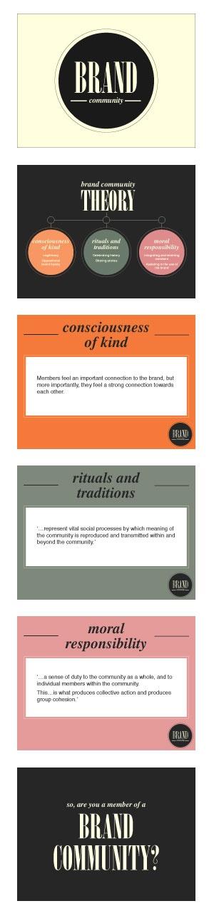 presentation slides idea #typography