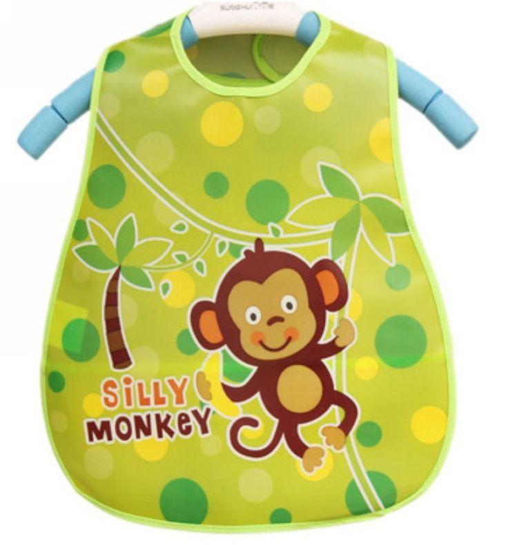 Baby Bibs For Boys Girls Infants Different Cartoon Pattern Bibs Burp Cloths EVA Waterproof Bib
