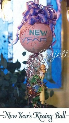 New Year's Kissing Ball