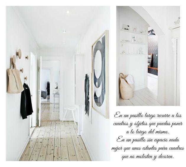 como-decorar-un-pasillo-estrecho : via MIBLOG