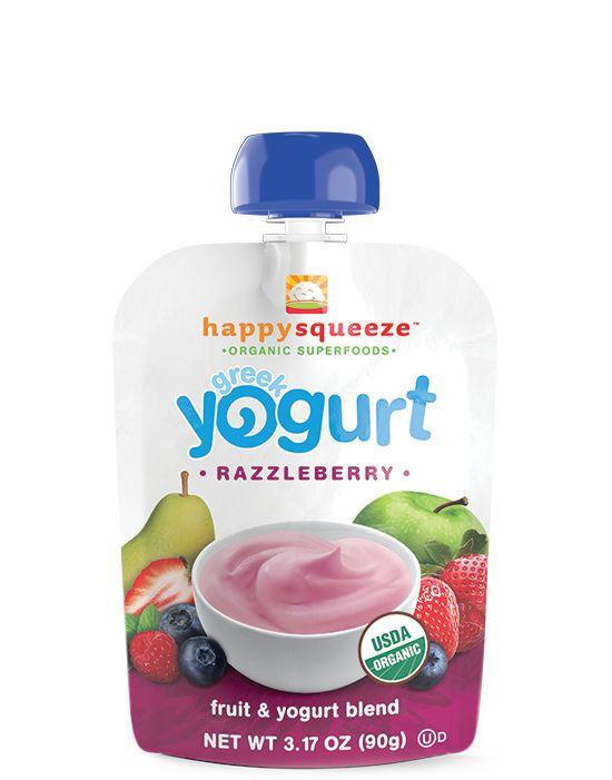happy squeeze greek yogurt - HappyFamily