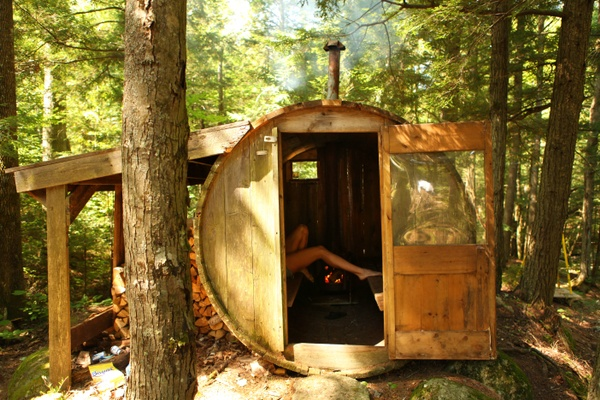 29 best wood fired saunas images on pinterest saunas for Build your own sauna cheap