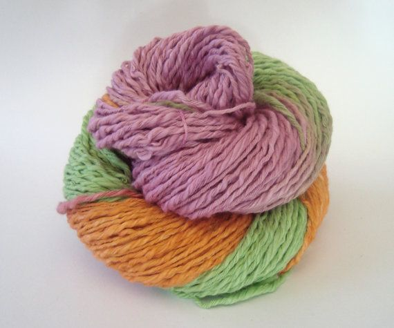 Bulky Summer Cotton Yarn by deorigenchile on Etsy, $12.00