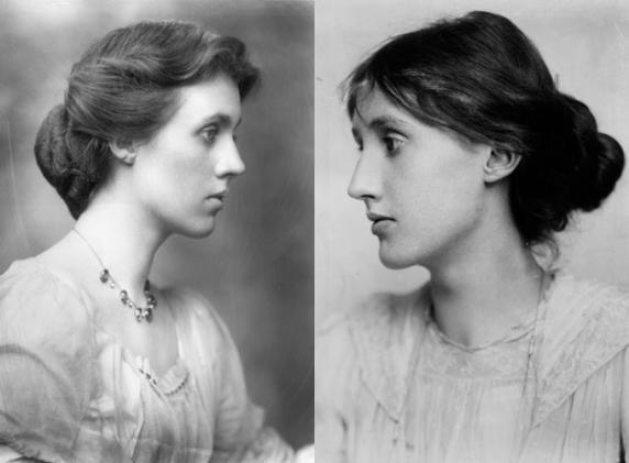 sisters, Virginia Woolf and Vanessa Bell