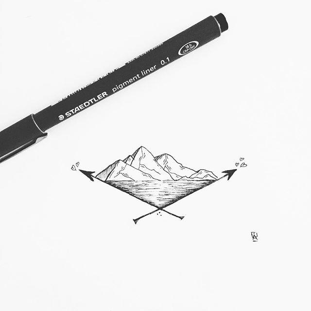 Arrows #illustration #illustrator #design #sketch #draw #drawing #art #artwork…