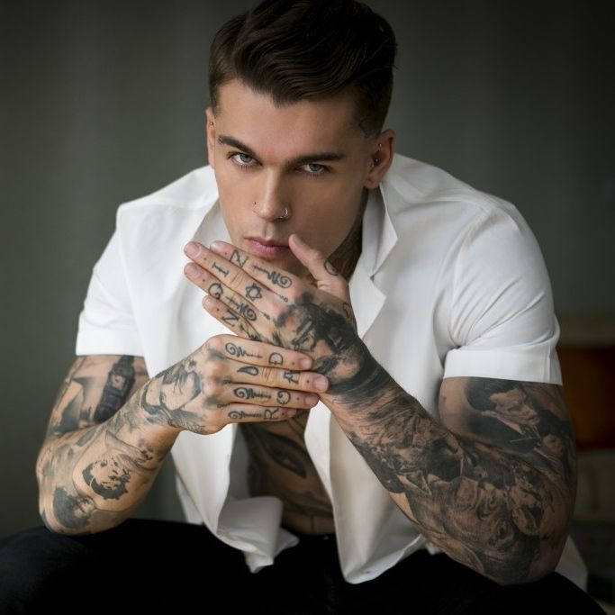 Stephen James for Pause Magazine by Benjamin Glean