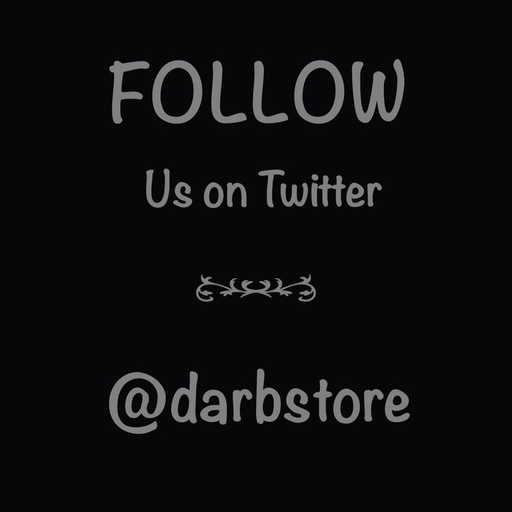 Follow and tweet us with #darb