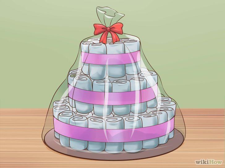 Comment faire un gâteau de couches                                                                                                                                                     Plus