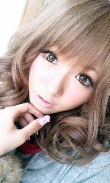 Gyaru. Pretty color.