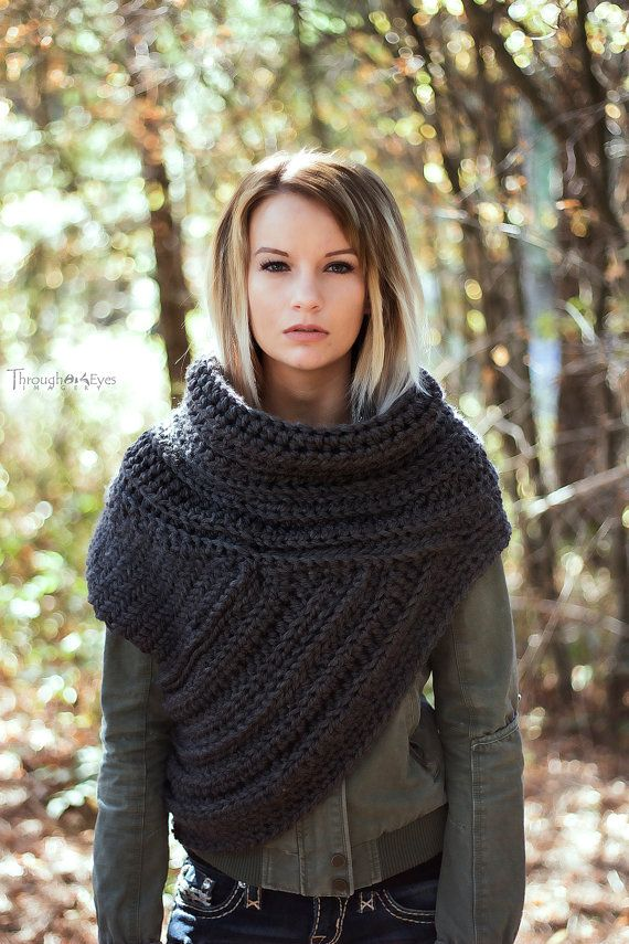 SALE This Huntress Cowl Vest shown above is Granite. Original Price: $160 There are various earthy tones available for you to choose from but I can also do a custom order with any colors not listed. I make my Huntress Cowl Vests in sizes XS-XL. If you are any other size, we can start a custom order together. Standard Women US Sizing: XS: 1-2 S: 4-6 M: 8-10 L: 12-14 XL: 16 I used my own pattern which includes knitting, crochet, and other various techniques with high quality yarn. My…