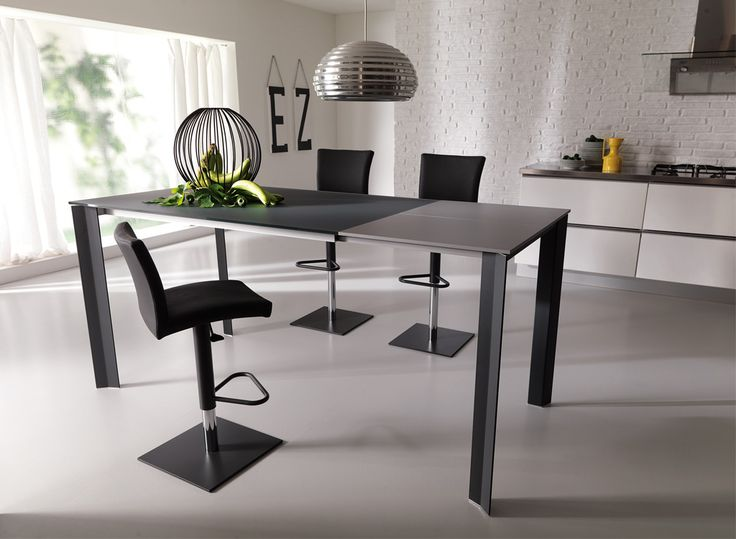 Elegant Wing Up | Resource Furniture | Space Saving Dining Table #transforming  #multifuctional