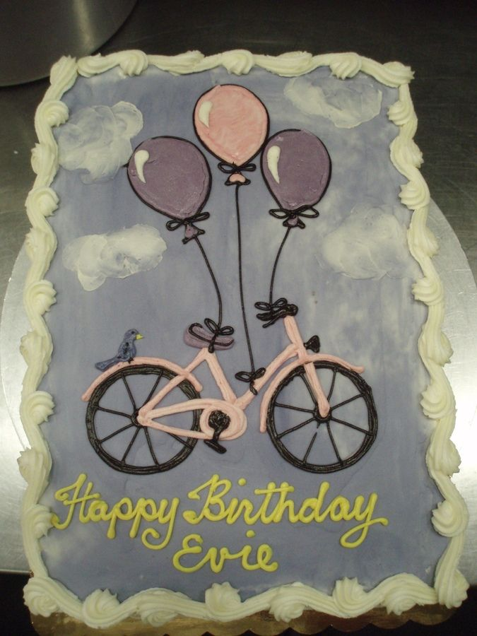 Radio Flyer Bike >> 17 best images about Bicycle cake on Pinterest | Balloon ...