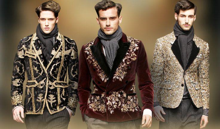 baroque inspired fashion men - photo #6