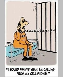 #Joke: A prisoner in jail receives a letter from his wife... #humor #lol