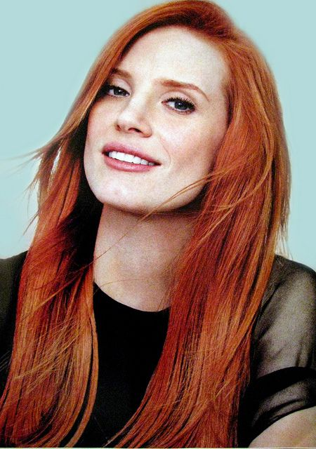 Jessica Chastain, 2013 I have been told that I look a lot like this woman. What a compliment but I don't see it.