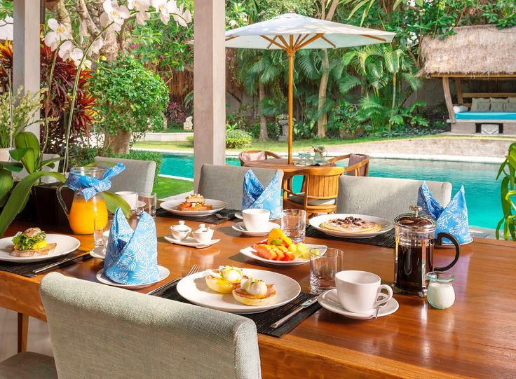 Your daily breakfast at #LataLianaVillas is a culinary treat which our guests have been raving about every morning.  www.latalianavillas.com/the-details/dining.html #lataliana #breakfast #culinary #food #butlerservice #paradise #love