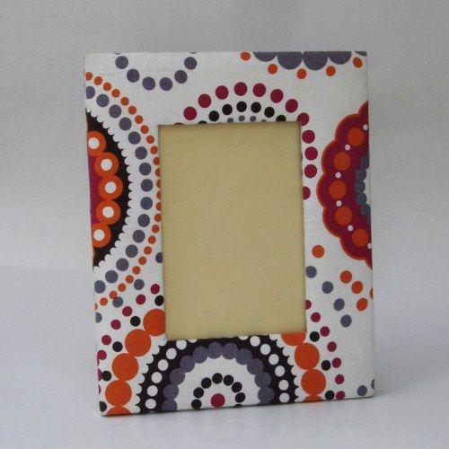 Colourful Leatheretthe Back Photoframe