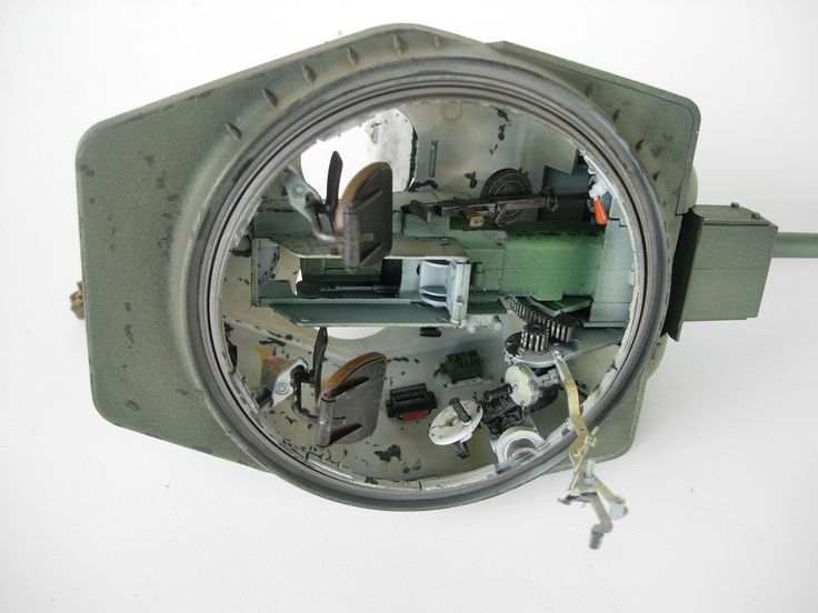 1/16 scale Russia T34 turret interior, by ademodelart