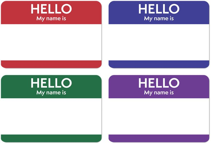 Hello, My Name Is...When your 5yo changes her name.