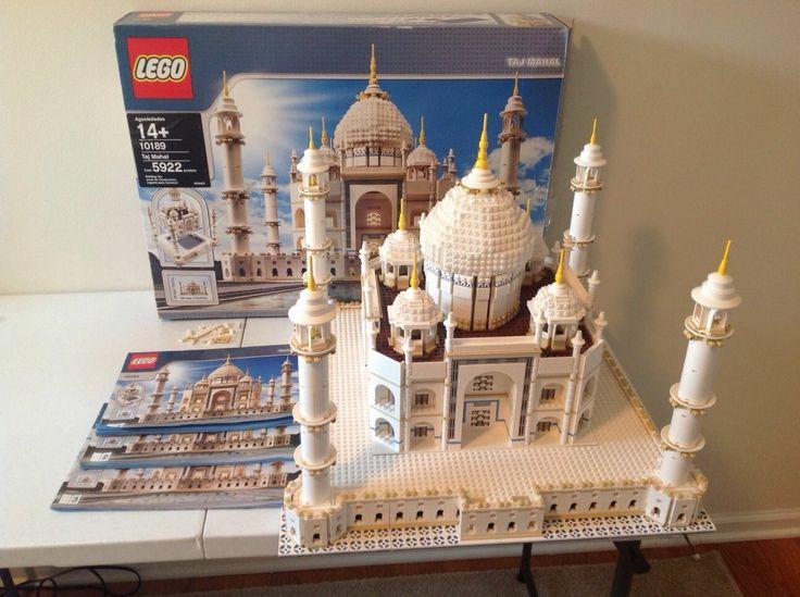 Lego Taj Mahal 100% Complete With Box   Instructions 10189 5922 Pcs, No Reserve!