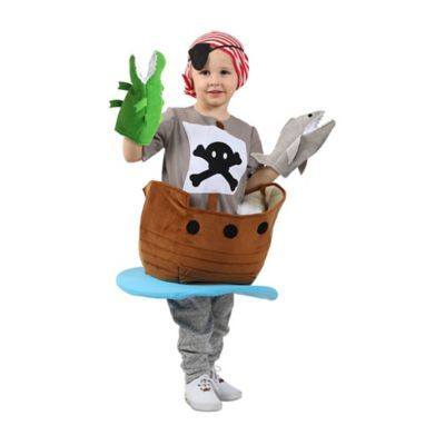 Pirate Ship Small Child's Halloween Costume