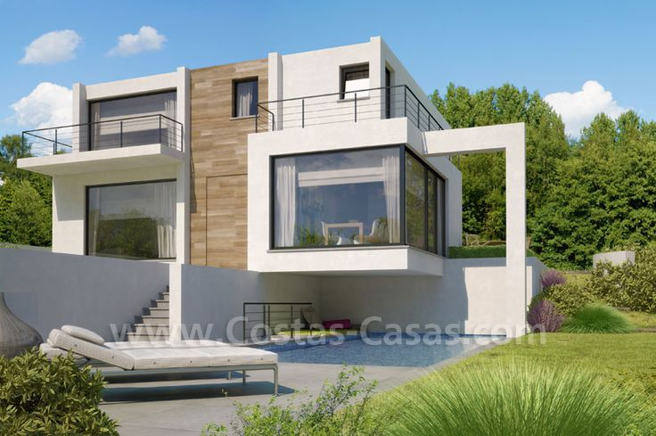 villa moderne recherche google projets essayer pinterest villas and modern. Black Bedroom Furniture Sets. Home Design Ideas