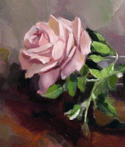 Examples about how to paint roses, with techniques and expert advice