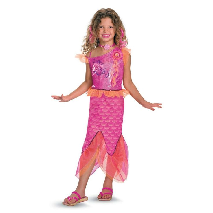 Deluxe Barbie Merliah Girls Halloween Costume - Small