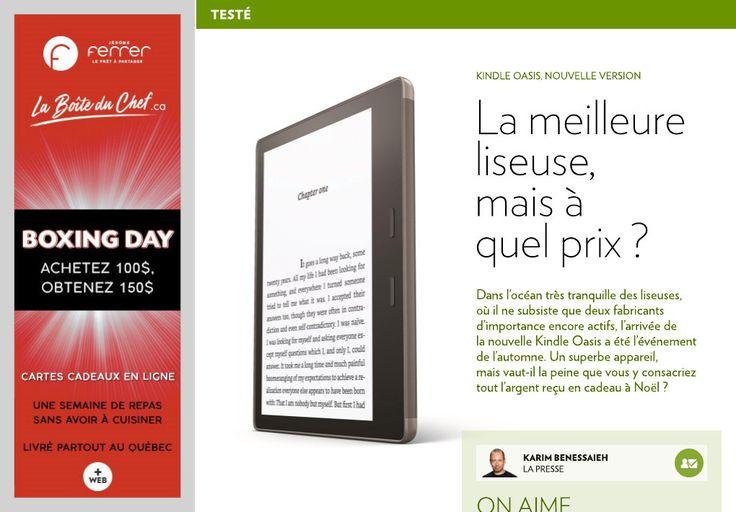 Oasis: la meilleure liseuse, mais à quel prix? - La Presse+