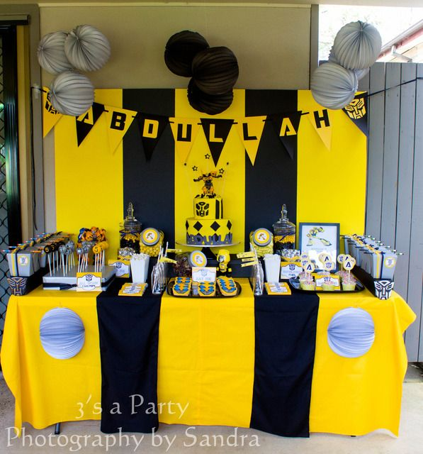 """Photo 2 of 38: Birthday """"Bumblebee Birthday Party"""" 